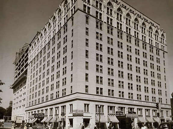 History Welcome Overview, The Kahler Grand Hotel