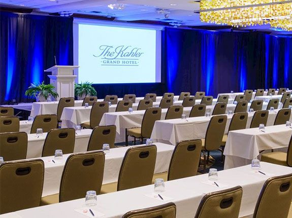 Meetings & Events Welcome Overview, The Kahler Grand Hotel